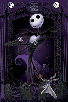 Plakát Ukradené Vánoce Tima Burtona - It's Jack