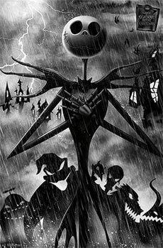 Plakát Ukradené Vánoce Tima Burtona - Shadow
