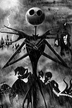 Plakát  Ukradené Vánoce Tima Burtona - Storm