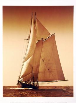 Reprodukcja Under Sail I