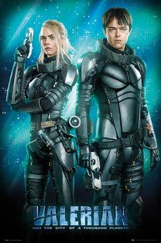 Plakat Valerian i Miasto Tysiąca Planet - Duo
