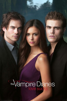 Plakát VAMPIRE DIARES - triangle
