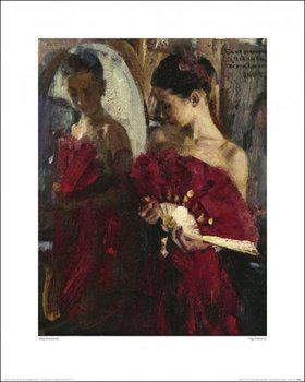 Reprodukcja Vasily Bratanyuk - Olga Pavlova II