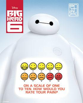 Plakát Velká Šestka - Rate Your Pain