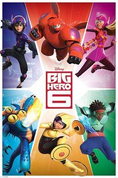 Plakát Velká šestka - Team