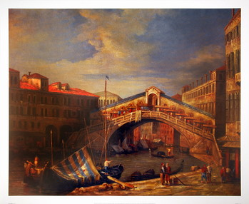Reprodukcja Venice Bridge