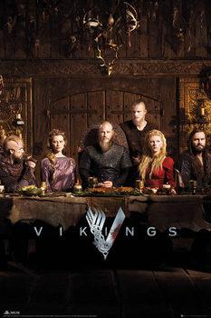 Plakát Vikingové - Table