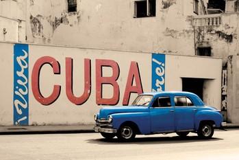 Plakát Viva Cuba