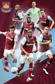 Plakát West Ham United FC - Players 15/16