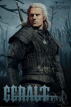 Plakat Wiedźmin (The Witcher) - Geralt of Rivia