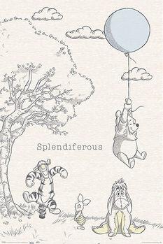 Plakat Winnie the Pooh - Splendiferous
