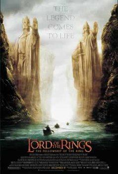 Plakat Władca Pierścieni