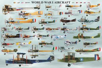 Plakat  World war I - aircraft