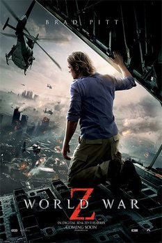 Plakát  WORLD WAR Z - one sheet