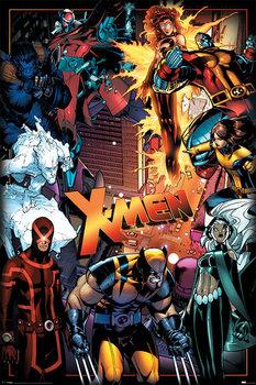 Plakat X-Men - Characters