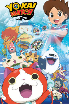 Plakát Yo-Kai Watch - Key Art