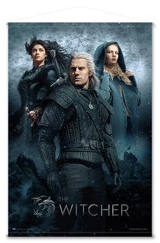 Textilní plakát Zaklínač (The Witcher)