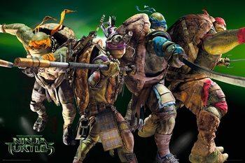 Plakát  Želvy Ninja - Group