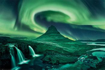 Plakat Zorza polarna