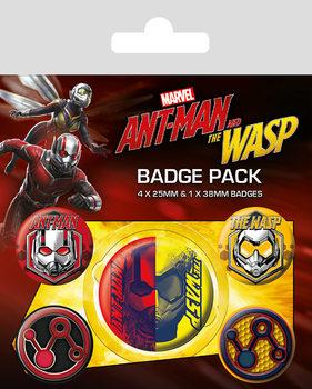 Plakietki zestaw Ant-Man and The Wasp