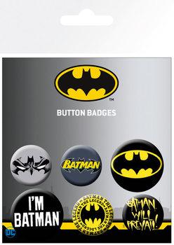 Plakietki zestaw  Batman - Comics