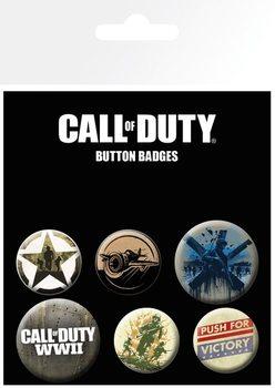 Plakietki zestaw Call Of Duty - mix