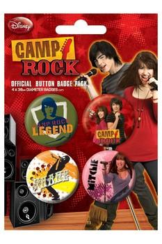 Plakietki zestaw CAMP ROCK 1