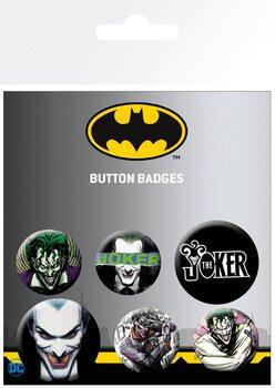 Plakietki zestaw DC Comics - Joker