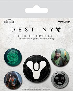 Plakietki zestaw Destiny - Guardians of Light