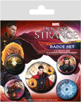 Plakietki zestaw  Doktor Strange  - Magic