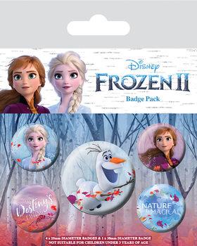 Plakietki zestaw Frozen 2