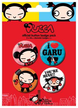 Plakietki zestaw PUCCA