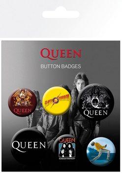 Plakietki zestaw  Queen - Mix