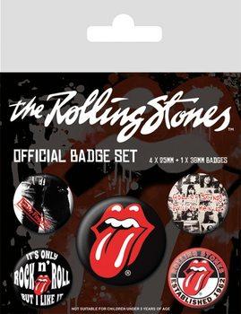 Plakietki zestaw Rolling Stones - Classic