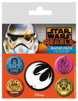 Plakietki zestaw Star Wars: Rebelianci