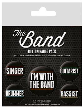 Plakietki zestaw The Band