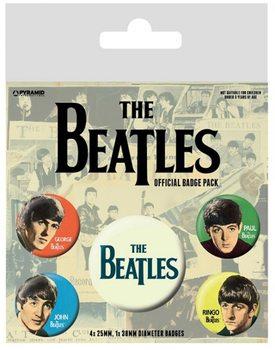 Plakietki zestaw The Beatles - Band