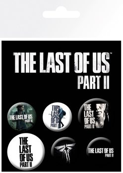 Plakietki zestaw The Last Of Us 2 - Ellie