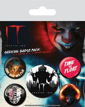 Plakietki zestaw  To: Rozdzial 2 - Clown