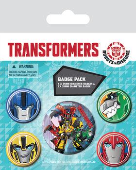 Plakietki zestaw Transformers Robots In Disguise - Robots