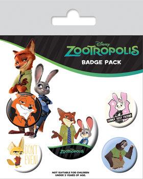 Plakietki zestaw Zwierzogród - Bunny Best Friend