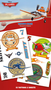 Tattoo PLANES - characters
