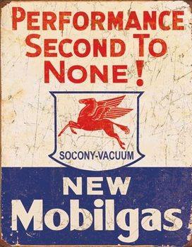 Plaque en métal Mobil Gas - 2nd to None