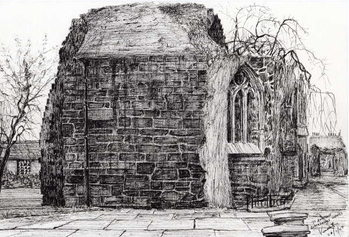 Slika na platnu Blackfriers Chapel St Andrews, 2007,