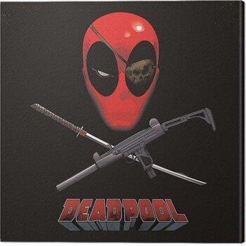 Slika na platnu Deadpool - Eye Patch