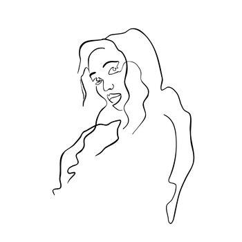 Slika na platnu Grace