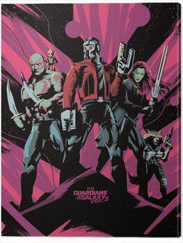 Slika na platnu Guardians of The Galaxy Vol. 2 - Unite