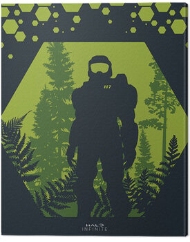 Slika na platnu Halo: Infinite - Hex