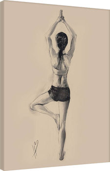 Slika na platnu Hazel Bowman - Tree Pose