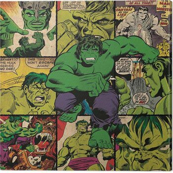 Slika na platnu Hulk - Squares